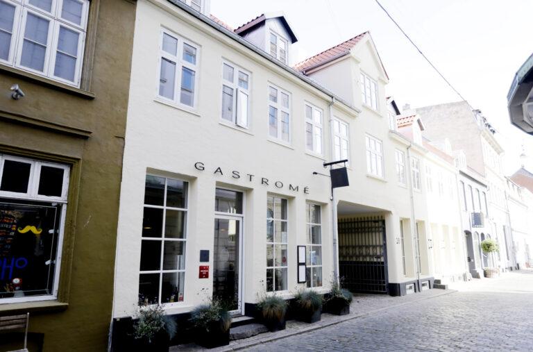 Gastrome facade i Aarhus