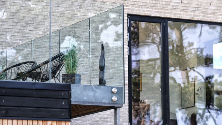 Glasterasse fra Elmsgaard Entreprise
